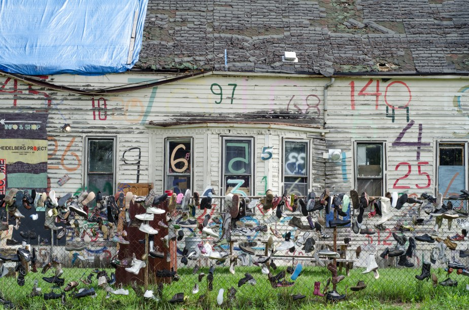 Everything I Saw at The HeidelbergProject
